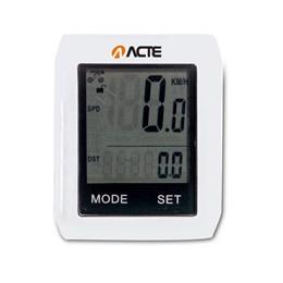 Computador Touchscreen para Bike SEM FIO ABS Branco - ACTE A33