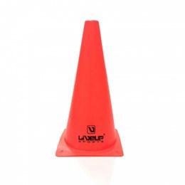 Cone para Treinamento de Agilidade 28cm Vermelho - LIVEUP LS3876/28