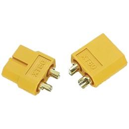Conector XT60 KPP Airsoft com Plug Macho e Fêmea para Bateria