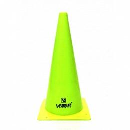 Cones para Treinamento de Agilidade 38cm Verde 20 Unidades - LIVEUP LS3876/38