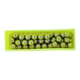 Conjunto de Munição com Esferas em Aço Endurecido Cromado para Atiradeira - Nautika 411550