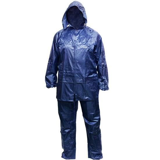 Conjunto Impermeável Azul Jaqueta Calça Scott Nautika