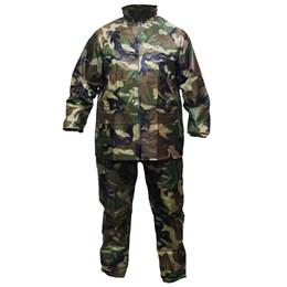 Conjunto Impermeável Camuflado Jaqueta Calça Scott Nautika