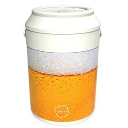 Cooler Térmico Lavita Beer 5,6 Litros 16 Latas com Alça de Transporte Branco