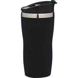 Copo em Aço Inox Mor Coffee to Go 450 Ml Preto