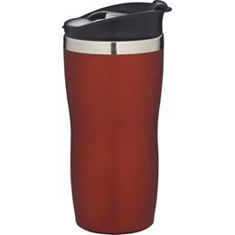 Copo em Aço Inox Mor Coffee to Go 450 Ml Vermelho