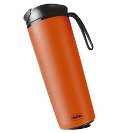 Copo Térmico Antiqueda em Aço Inox Laranja 450ml Coffee to Go MOR