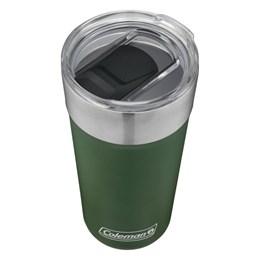 Copo Térmico de Cerveja Coleman 590 ml Verde com Abridor de Garrafas