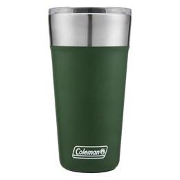 Copo Térmico de Cerveja Coleman 600 ml Verde com Abridor de Garrafas
