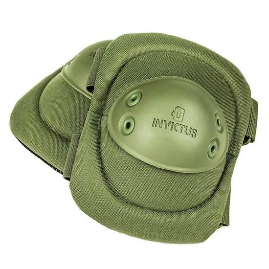 Cotoveleira Tática INVICTUS Protec Paintball Airsoft Verde