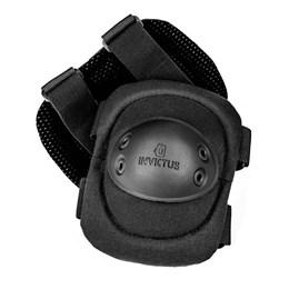 Cotoveleira Tática para Proteção INVICTUS Protec Preta