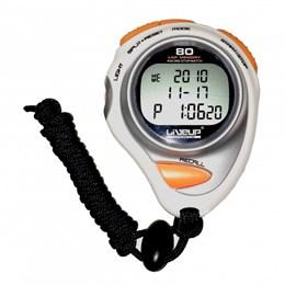 Cronômetro Digital com Alarme Relógio 80 Lap - LIVEUP LS3347