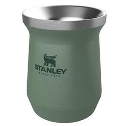 Cuia Térmica Stanley Classic Hammertone Green 236ml Aço Inox até 3 Horas Gelado