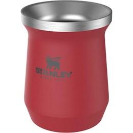 Cuia Térmica Stanley Classic Mate Red 236ml Aço Inox até 3 Horas Gelado