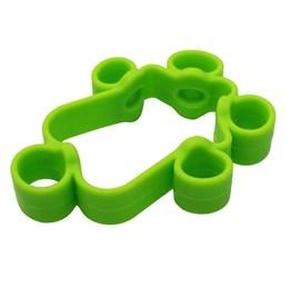 Elástico Extensor Liveup LS3912M Fortalecimento dos Dedos Médio Verde