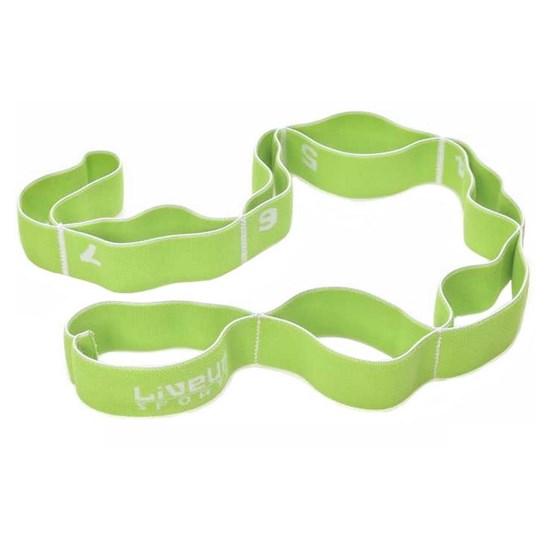 Elástico Multinível Elasticband Liveup LS3660-M Nível Médio Verde