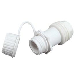 Entrada para Dreno Igloo para Caixa Térmica de  25 a 165 QT / 47 á 156 Litros