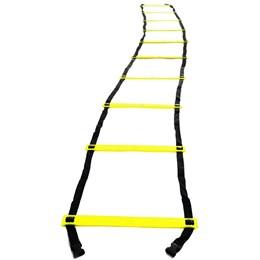 Escada de Agilidade 4m com 10 Degraus Proaction + Bola Dupla para Massagem e Miofascial
