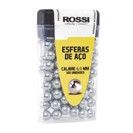 Esfera de Aço Rossi Calibre 6mm 100 Unidades