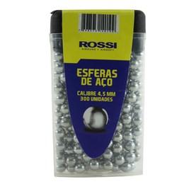 Esferas de Aço 4.5mm Rossi 300 Unidades para Armas de Pressão