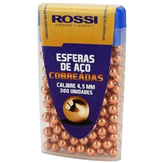 Esferas de Aço Cobreada 300 Unidades 4.5mm Rossi