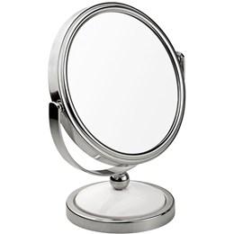 Espelho de Aumento 2x Dupla Face Classic - MOR 8483