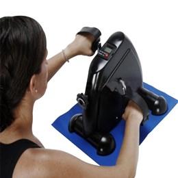 Exercitador de Perna e Braço Mini Bike com Monitor - LIVEUP LS9055