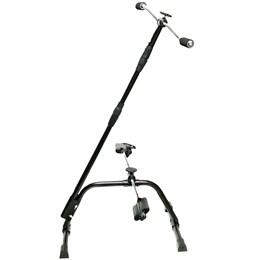 Exercitador Mini Bike Pernas e Braços Reabilitação Preto - LIVEUP LS9053