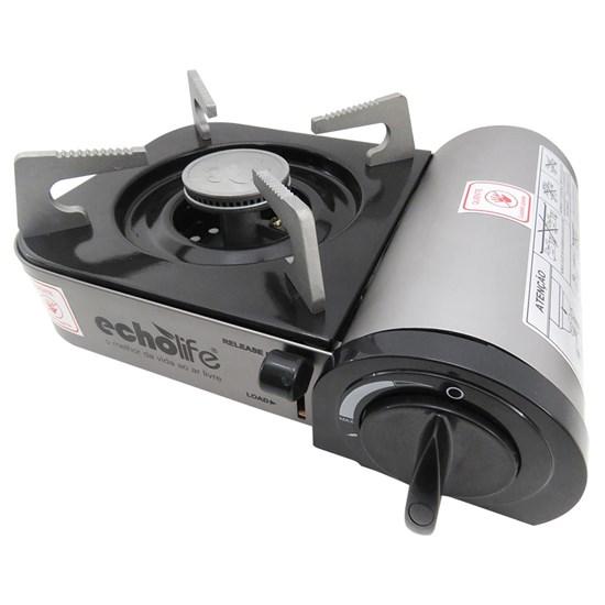 Fogareiro Alu Compact com Ignição eletrônica e Acendedor Automático - EchoLife
