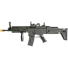 Fuzil Airsoft FN Scar-L Cybergun Spring 300 FPS Polímero + Speed Loader e 5000 BBs