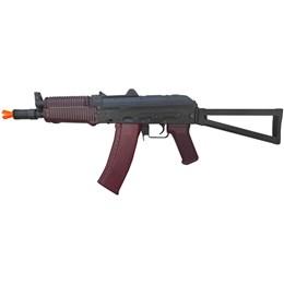 Fuzil de Assalto AEG AKS 74U 6mm Airsoft 400fps Elétrico - CYMA