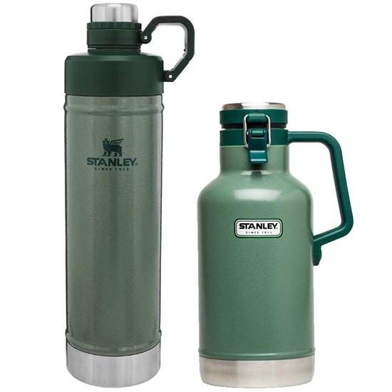 Garrafa Growler Térmico 1,9L com Tampa Stanley + Garrafa Térmica 750ml Hydration