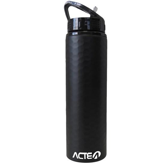 Garrafa Squeeze ACTE C35 750 ml em Aço Inox Preta