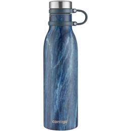 Garrafa Squeeze de Hidratação Térmica em Aço Inox Matterhorn 591ml Blue Slate