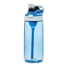 Garrafa Squeeze Kids Contigo Autospout Tritan 414Ml Azul Celeste