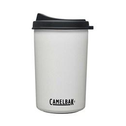 Garrafa Térmica 0,650ML Camelbak Multibev 2 em 1 c/ Copo Rosqueável Branco