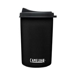 Garrafa Térmica 0,650ML Camelbak Multibev 2 em 1 c/ Copo Rosqueável Preto