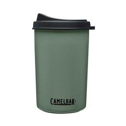 Garrafa Térmica 0,650ML Camelbak Multibev 2 em 1 c/ Copo Rosqueável Verde