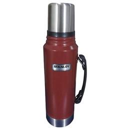 Garrafa Térmica 1 Litros Aço Inox + Garrafa Térmica Switchback 473ml Stanley