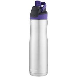 Garrafa Térmica 710 ml Contigo Autoseal Chill Grapevine em Aço Inox Lilás