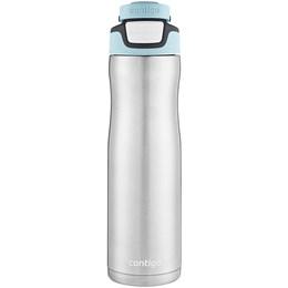 Garrafa Térmica 710 ml Contigo Autoseal Chill Iced Aqua em Aço Inox