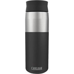 Garrafa Térmica CamelBak Hot Cap Vacuum 600 ml Preto até 24 Horas Gelado