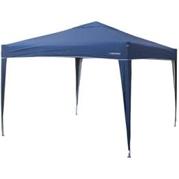 Gazebo Articulado Sanfonado Nautika Trixx 3x3m + 1 Parede Azul
