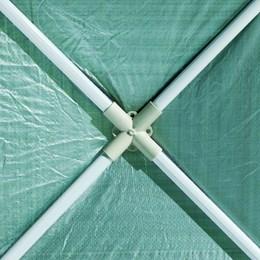 Gazebo Desmontável em Polietileno 3 x 3 Green - Nautika 350150