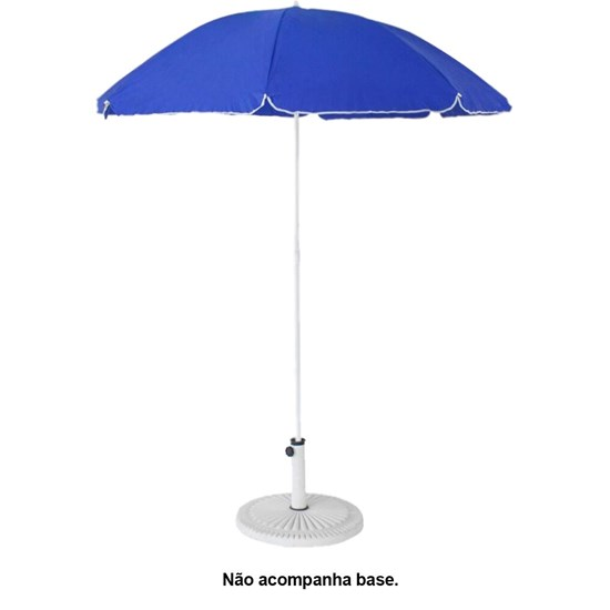 Guarda-Sol Caribe 200 Anti-UV 50+ Com Bolsa Tira-Colo Azul - Nautika 354200