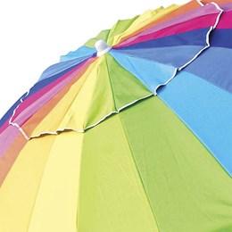 Guarda-Sol Mor 2,20m Rainbow Cobertura Poliéster Estrutura Alumínio