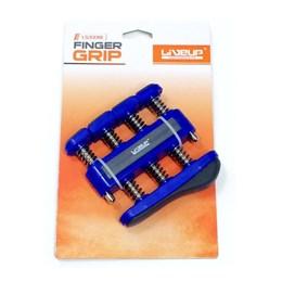 Hand Grip Exercitador de Mãos e Dedos Azul - LiveUp Sports LS3338B/F