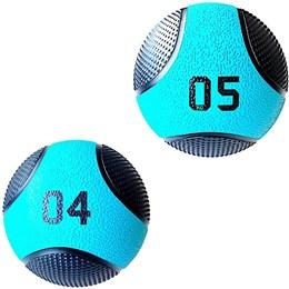 Kit 2 Medicine Ball Liveup PRO 4 e 5 Kg Bola de Peso Treino Funcional LP8112