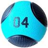 Kit 2 Medicine Ball Liveup PRO B 4 Kg Bola de Peso Treino Funcional LP8112-04