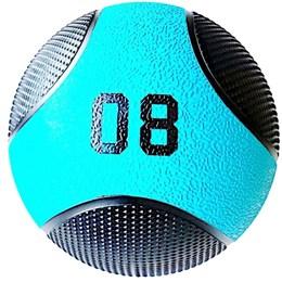 Kit 2 Medicine Ball Liveup PRO E 8 Kg Bola de Peso Treino Funcional LP8112-08